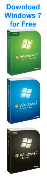 Download the Windows 7 Starter, Home (Basic Premium), Professional und Ultimate!